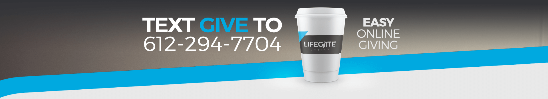LifeGate Easy Online Giving or by Text